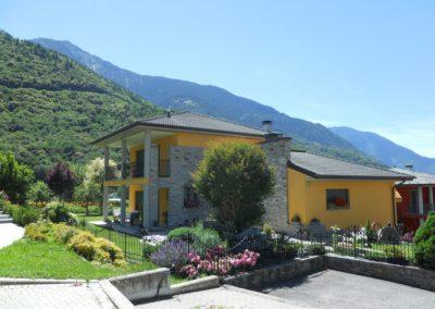 Villa finita in Albosaggia